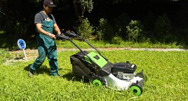 Diesel bezine grasmaaier loopmaaier